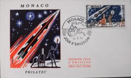 MONACO - PREMIER JOUR D'EMISSION - PHILATEC - Monaco Le  22 - 5 - 64 - Parfait état - FDC