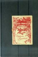 PUBLICITE  -  PAPIER PARISIEN A BRULER  -  E. LECUYER PARIS - Publicités