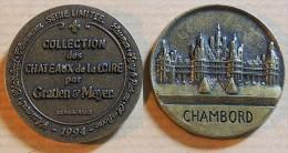 Jeton Touristique - Collection Des Châteaux De La Loire Par Gratien & Meyer - CHAMBORD - 1994 - Other