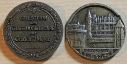 Jeton Touristique - Collection Des Châteaux De La Loire Par Gratien & Meyer - AMBOISE - 1994 - Tourist
