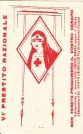 SOTTOSCRIVETE AL V PRESTITO  PRESSO IL CREDITO ITALIANO-CROCE ROSSA--ILL.LYANA D´EPOCA ORIGINALE 100  ORIGINALE 100% - Croce Rossa
