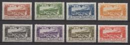French Guyana - Guyane (1933) Yv. Av. 11/18  /  Airplane - Avion - Aircraft - Avions
