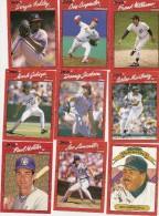 Y-BASEBALL MLB LOTTO DI15 CARD (GIOCATORI BASEBALL)ORIGINALI AMERICANE - Trading Cards