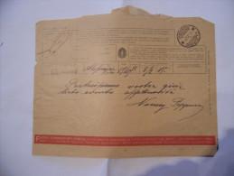 FASCISMO TELEGRAMMA D´AUGURI DESTINAZIONE OLEGGIO NOVARA 1939 - Vecchi Documenti