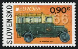 Slovakia - 2013 - Europa CEPT - Postal Vehicles - Mint Stamp - Slovakia