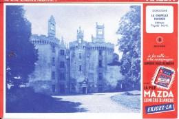 Buvard N° 8 MAZDA - Chateau De LA CHAPELLE FAUCHER Dordogne - Piles