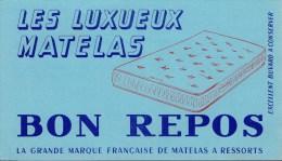 "Buvard "" Les luxueux Matelas "" BON REPOS"