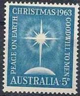 1963 AUSTRALIE 305**  Noël - Mint Stamps