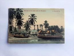 Carte Postale Ancienne : HONDURAS : La Playa De TELA - Honduras