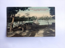 Carte Postale Ancienne : HONDURAS : Carganda Banano, Rio De Salado - Honduras