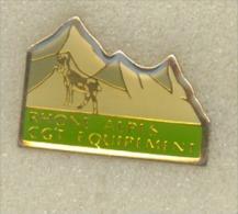 Rare pin�s Rhone Alpes Equipement