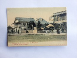 Carte Postale Ancienne : HONDURAS : LA CEIBA , Calle Segunda - Honduras