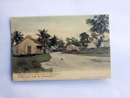 Carte Postale Ancienne : HONDURAS : EL PORVENIR, Calle De L'embarcadero - Honduras