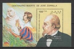 Sahara Occ. (1993) - Block -  /  Jose Zorrilla - Writer - Poet - Ecrivain - Escritor - Poet - Tenorio - Persönlichkeiten