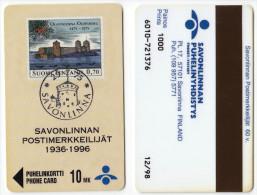 Finland - Savonlinnan - 1000ex - XX52 stamp castle