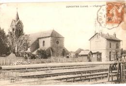 CERCOTTES - GARE Et église - Vente Directe X - Frankrijk