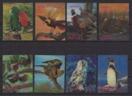 Bhutan (1969) Yv. 235/38 + Av. 54/57  /  Fauna - Birds - Oiseaux - Vogel -Pinguin - Owl - Andere