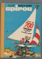 SPIROU -Album N° 109 - Édition DUPUIS - Spirou Et Fantasio