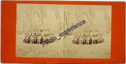 Stereoscopic Photo Stéréo XIX Militaire Military 1860 1870 FRANCE - Photos Stéréoscopiques