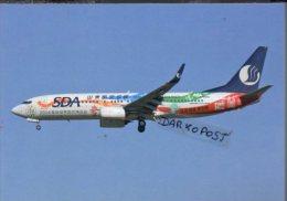 Boeing 737-800 B-5856 Aircraft SHANDONG AIRLINES Sda B 737 Avion Aviation B737 Aiplane B-737 Luft - 1946-....: Era Moderna