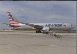 Boeing B767-323  N380AN AMERICAN AIRLINES B.767 Cartes Avion B767 Avion B-767 - 1946-....: Era Moderna