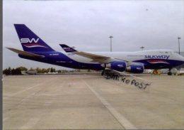 Boeing B747-4R7F  4K-SW800 SILK WAY Airlines B.747 Cartes Avion B 747 Avion B-747 Israele - 1946-....: Moderne