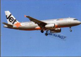 Airbus A 320-232 VH-VQR Aerei JETSTAR AIRLINES Aviation A.320 Aiplane A 320 JET STAR - 1946-....: Moderne