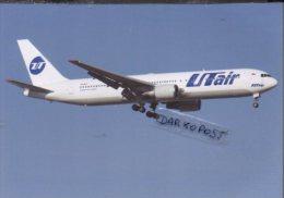Boeing 767-306 VQ-BSY Aircraft UTAIR AIRLINES B 767 Avion Aviation B767 Airplane B-767 Luft UT AIR - 1946-....: Moderne