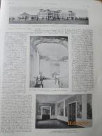 L Hopital Américain De Reims American Hospital   + Dranem Fontaine Du Rire - Old Paper