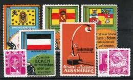 Lot Alte Werbemarken/Spendemarken Siehe Scan - Vignetten (Erinnophilie)