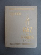 AGENDA - GAZ De FRANCE  - 1960 - Publicités - Livres, BD, Revues