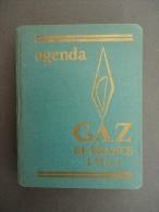 AGENDA - GAZ De FRANCE  - 1961 - Publicités - Livres, BD, Revues