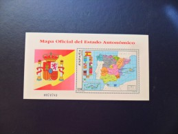 1996   Hoja Mapa Oficial Estado Autonómico  SH3460 - 1991-00 Ungebraucht