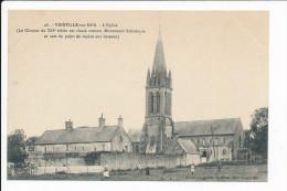 Carte De  VIERVILLE SUR MER   ( Recto Verso ) - Autres Communes