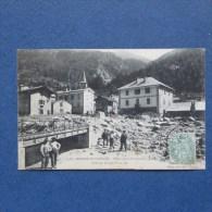 CPA-73-MODANE FOURNEAUX-Catastrophe Du 23 Juillet 1906-Pont Sur La Ligne PLM-Animée-(port Gratuit) - Modane