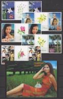 Norfolk I(2014) Yv. 711/15 + Bf. 45 - Special PAIRS !!  /  Flowers - Blooms - Fleurs - Blumen - Fiori - UNUSUAL Scented - Orchideeën