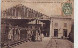 CPA Toulon - Train Et Intérieur De La Gare Du Sud France, Superbe, TOP - Toulon