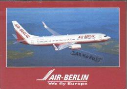 Boeing B 737-800 D-ABAF AIR BERLIN Aerei Aircraft Airlines B 737 Avion Aviation B-737 Aiplane Planes Flugzeuge B-737 AI - 1946-....: Moderne