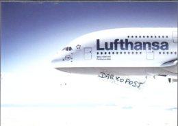 Airbus A 380 Aerei LUFTHANSA AIRLINES Aviation A.380 Aiplane A 380 LUFTHANSA L - 1946-....: Era Moderna