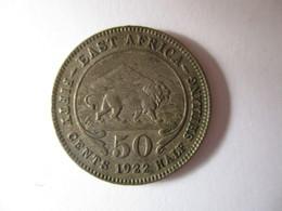 British East Africa: 50 Cents 1922 - Colonie Britannique