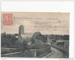50 VALOGNES L EGLISE D ALLEAUME CPA BON ETAT - Cherbourg