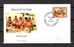 """Enveloppe  1er Jour De 2004 """" SCENE DE KAVA - MATA - UTU 31-03-04 """" N° YT 617. Parf état.FDC - FDC"""