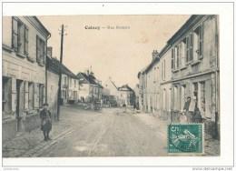02 COINCY RUE ROMAIN CPA BON ETAT - Autres Communes