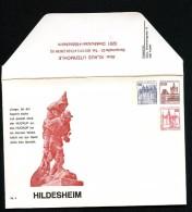 BERLIN PU121 Privat-Umschlag HUCKUP-DENKMAL HILDESHEIM ** 1978  NGK 10,00 € - Berlin (West)