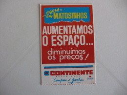 Hypermarkets Hypermarchés Hipermercados Continente Matosinhos Portugal Portuguese Pocket Calendar 1993 - Calendriers