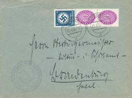 POTSDAM - 1936 , Dienstbrief Kreisschulrat - Deutschland