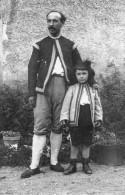 AULNAY SOUS BOIS Portrait De M. PRINCET Directeur Du Théâtre Aux  Champs Avec Son Fils - Aulnay Sous Bois