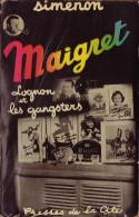 Georges SIMENON Maigret, Lognon Et Les Gangsters Presses De La Cité (1953) - Simenon