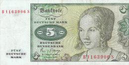 1980- Fünf 5 Mark - [ 7] 1949-… : RFA - Rep. Fed. De Alemania