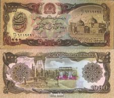 Afghanistan Pick-Nr: 61b Bankfrisch 1990 1.000 Afghanis - Afghanistan